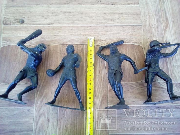 Болшые фигуры солдатов ссср + бонус подарок два солдата, фото №7