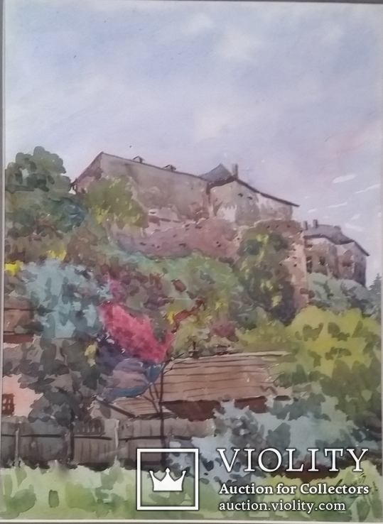 Кононов Г. 1956р., 40,5х30 см, папір, акварель, фото №3