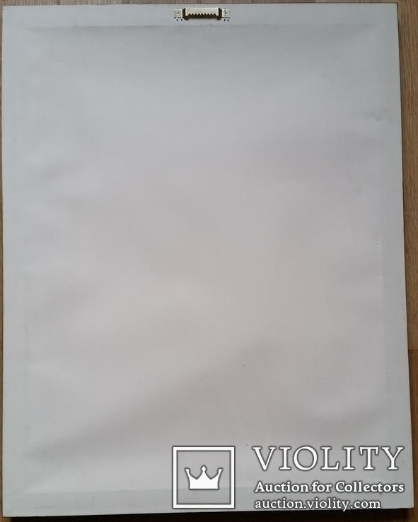 Кононов Г. 1956р., 40,5х30 см, папір, акварель, фото №6