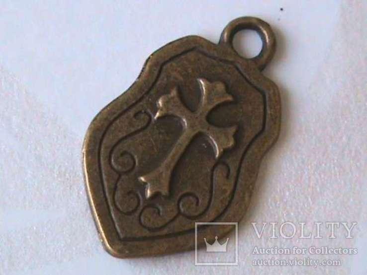 Масонское ложе - нагрудный знак тамплиеров + подвеска, фото №4