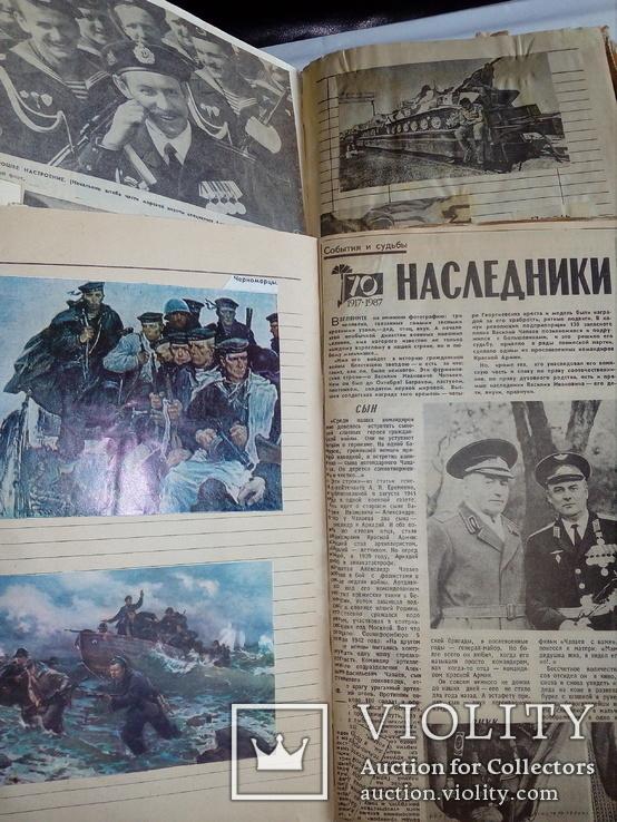 2 альбома вырезок из прессы второй половины 1980-х годов, фото №2