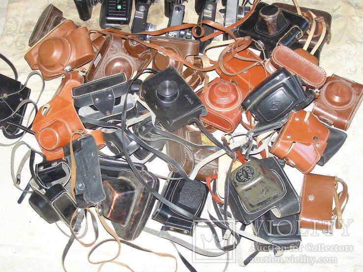 Фотоаппараты разные 41 шт. + разные кофры., фото №8
