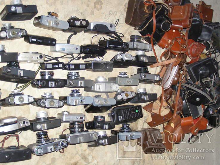 Фотоаппараты разные 41 шт. + разные кофры., фото №13