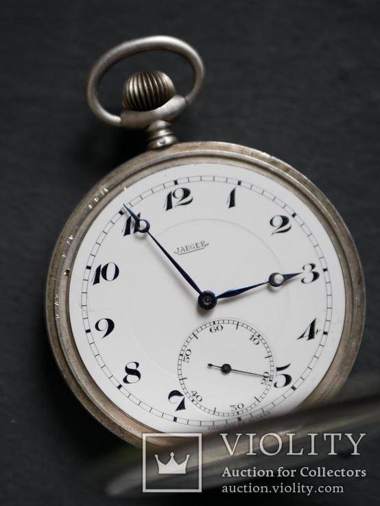 Наградные карманные часы Jaeger, фото №4
