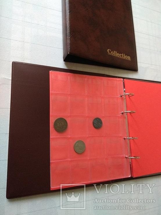 Акция: Альбом для монет/банкнот Колекшн Люкс 269 ячеек