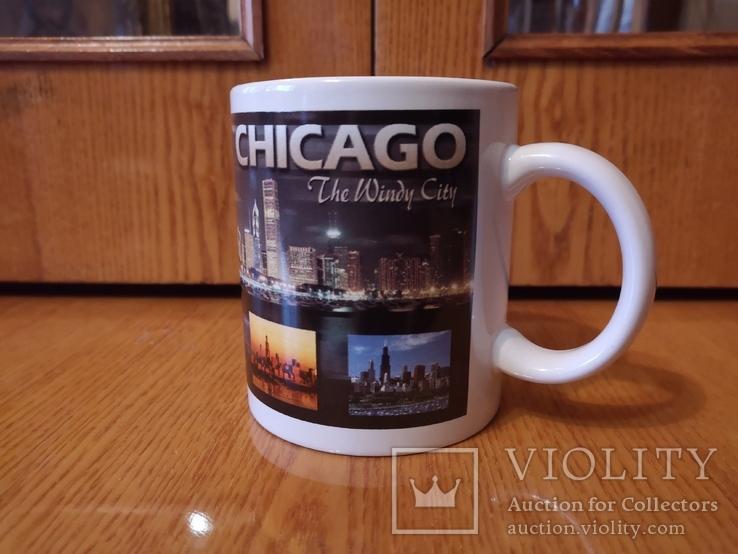 Чашка США город Чикаго Аль Капоне гангстер кружка Америка Штаты, фото №2