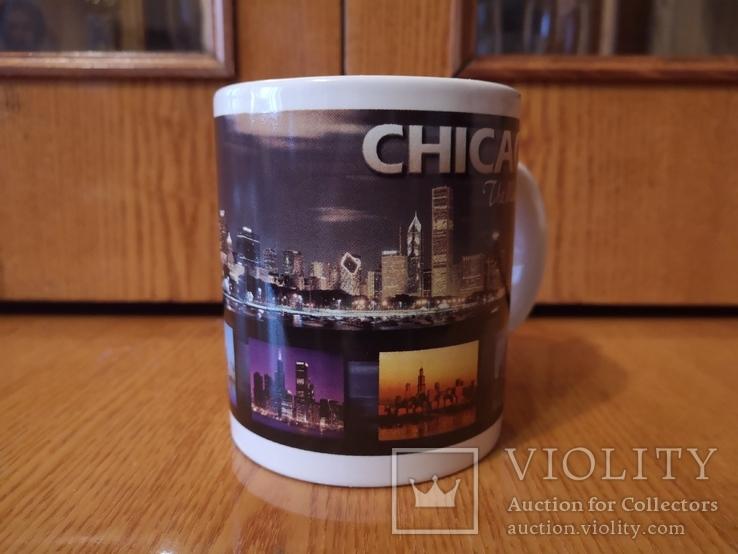 Чашка США город Чикаго Аль Капоне гангстер кружка Америка Штаты, фото №3
