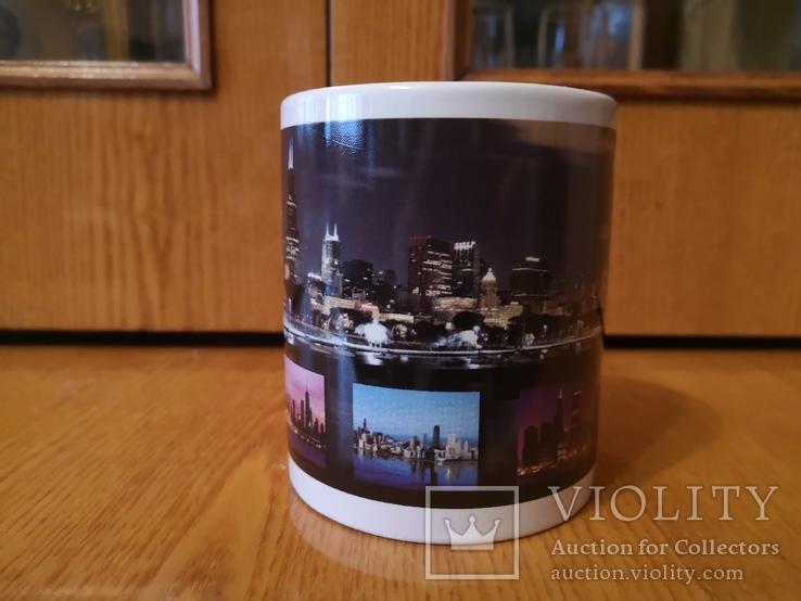 Чашка США город Чикаго Аль Капоне гангстер кружка Америка Штаты, фото №4
