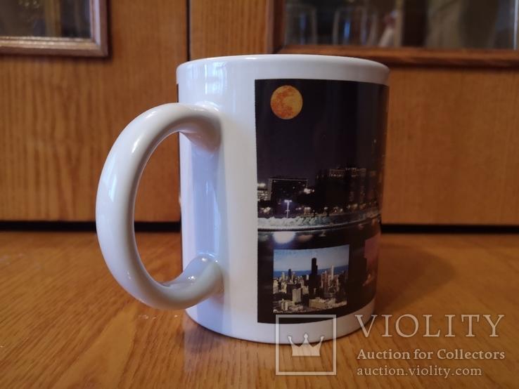 Чашка США город Чикаго Аль Капоне гангстер кружка Америка Штаты, фото №6