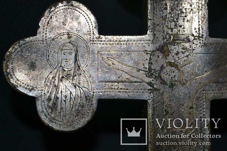 Крест мощевик 19-й век, фото №4