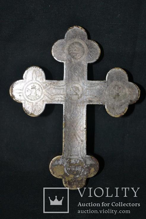 Крест мощевик 19-й век, фото №6