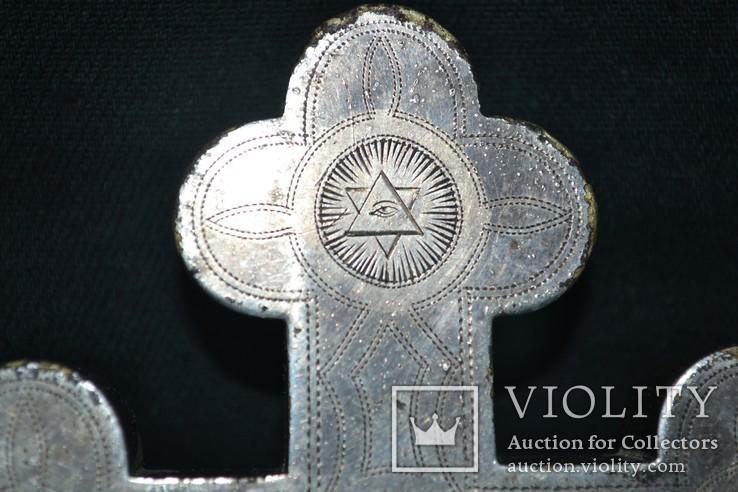 Крест мощевик 19-й век, фото №7