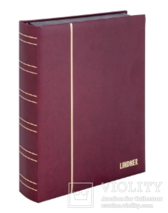 Кляссер серии ELEGANT NUBUK с 60 чёрными страницами. 1181 - R. Красный., фото №3