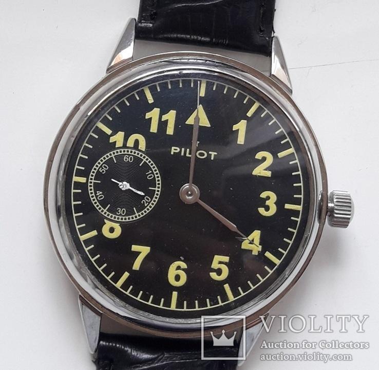 Часы Молния Пилот Pilot марьяж, фото №2