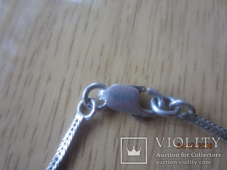 Колье бусы из серебра 925 ставки, фото №9