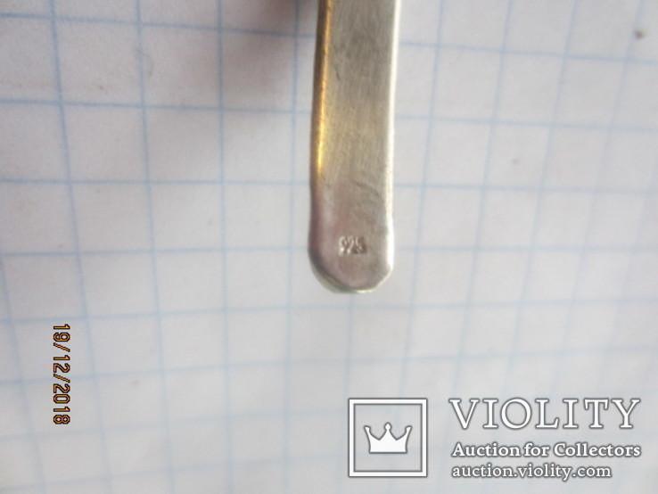 Колье серебро 925 халиотис ручная работа, фото №8