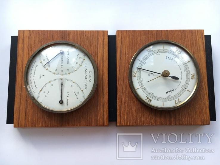 Барометр Термометр  Германия 50-годы, фото №2