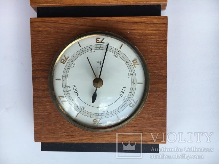 Барометр Термометр  Германия 50-годы, фото №5