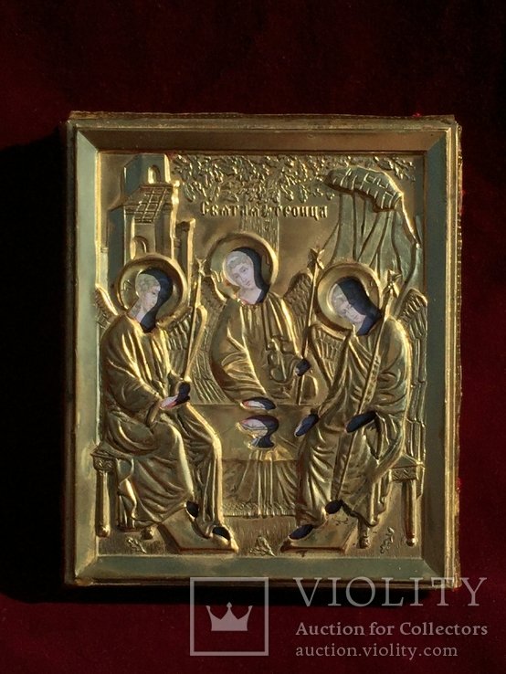 Икона Святая Троица, фото №2