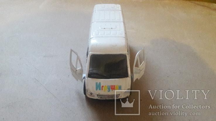 Игрушка машинка автомобиль газель игрушки, фото №3