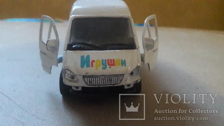 Игрушка машинка автомобиль газель игрушки, фото №4
