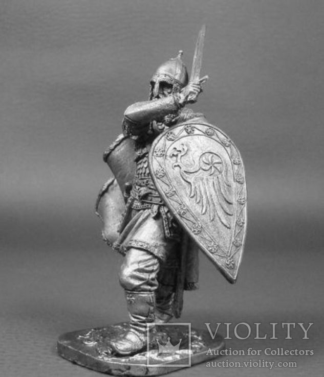 Русь.Рязанский воевода боярин Евпатий Коловрат, 1238 год, фото №3