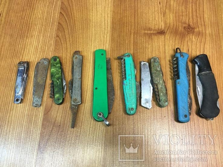 Набор ножей на реставрацию.