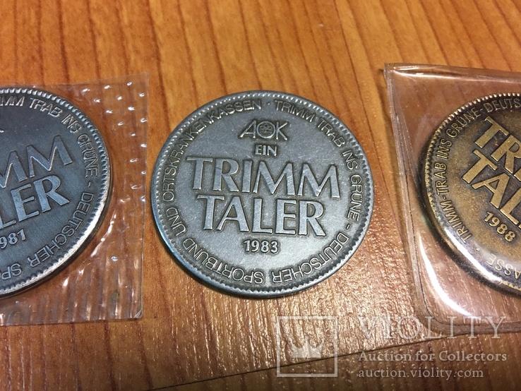 Жетоны TRIM TALLER 3 шт., фото №4