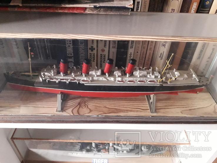 "Пассажирский лайнер ""Мавритания"" 1:700 (Airfix) + футляр"