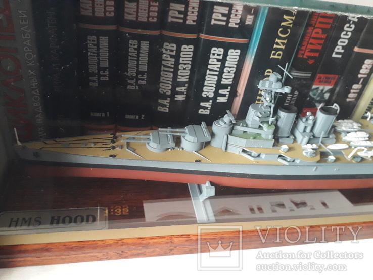 Линейный крейсер HMS Hood (Airfix), 1:600