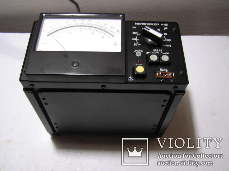 Микроамперметр Ф 195., фото №2