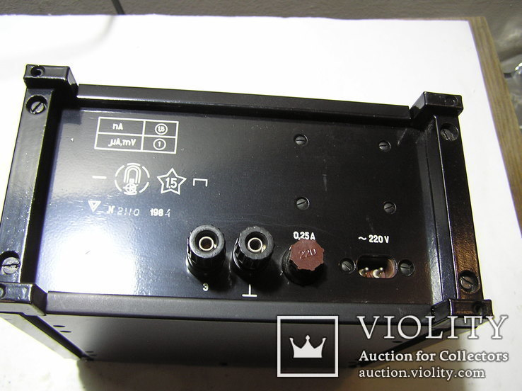 Микроамперметр Ф 195., фото №3