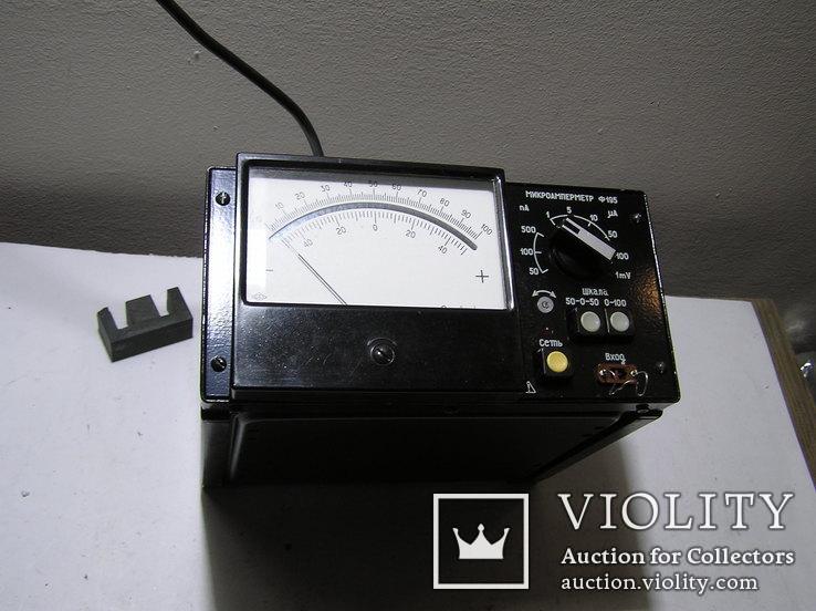 Микроамперметр Ф 195., фото №6