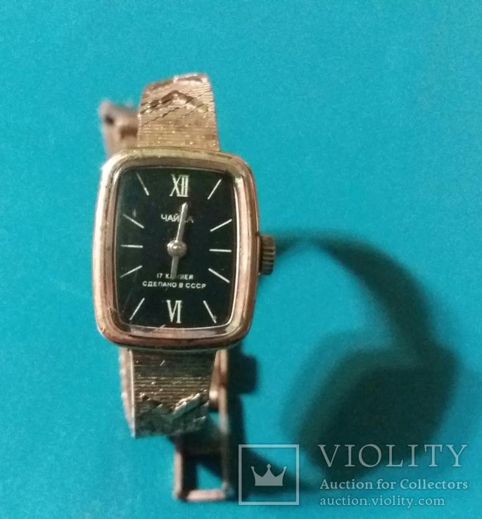 Часы наручные женские *Чайка* СССР, фото №2