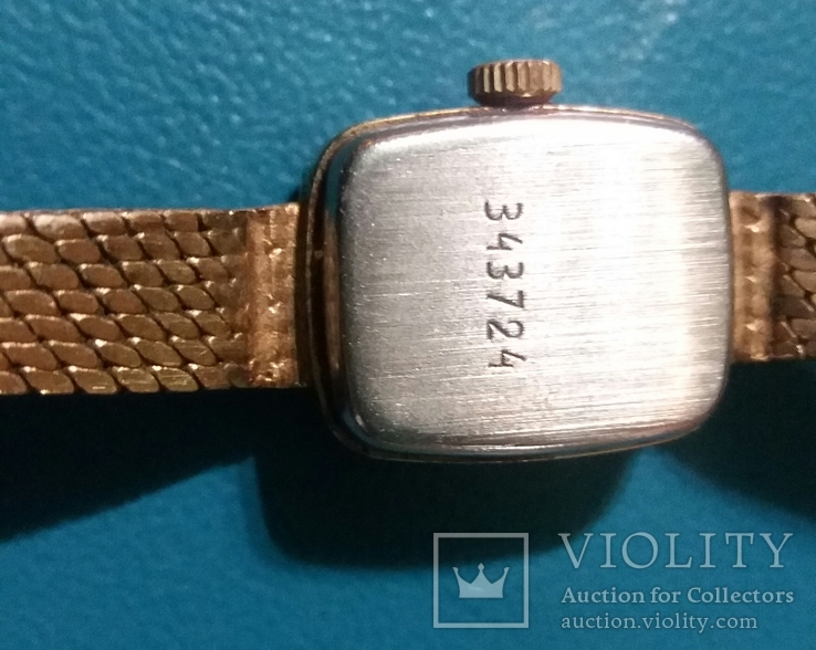 Часы наручные женские *Чайка* СССР, фото №6