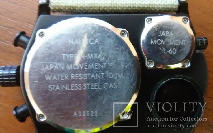 Часы хронограф NAUTICA (США) модель N-MX 62 под восстановление, фото №5