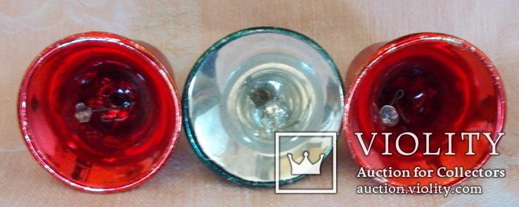 Три колокольчика производства ГДР. 60 - е годы., фото №6