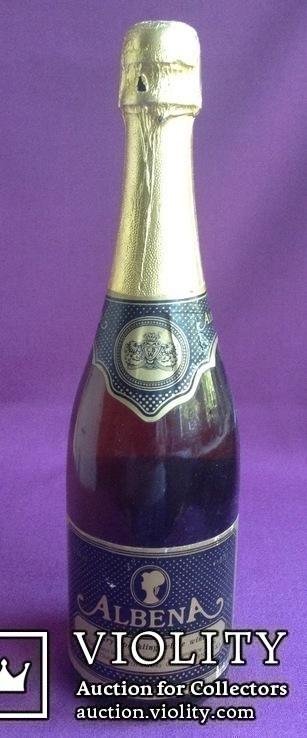 Вино ALBENA. A dry sparkling white wine. Производитель - UK., фото №2
