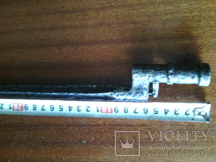 Четырехгранный штык к винтовке Мосина образца 1930 г.(№ 4), фото №8