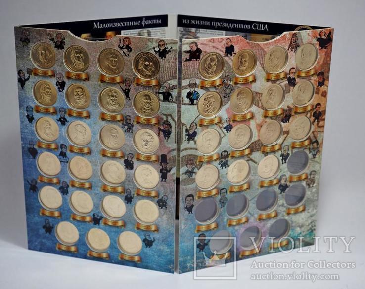 """Капсульный альбом для однодолларовых монет серии """"Президенты США"""", фото №5"""