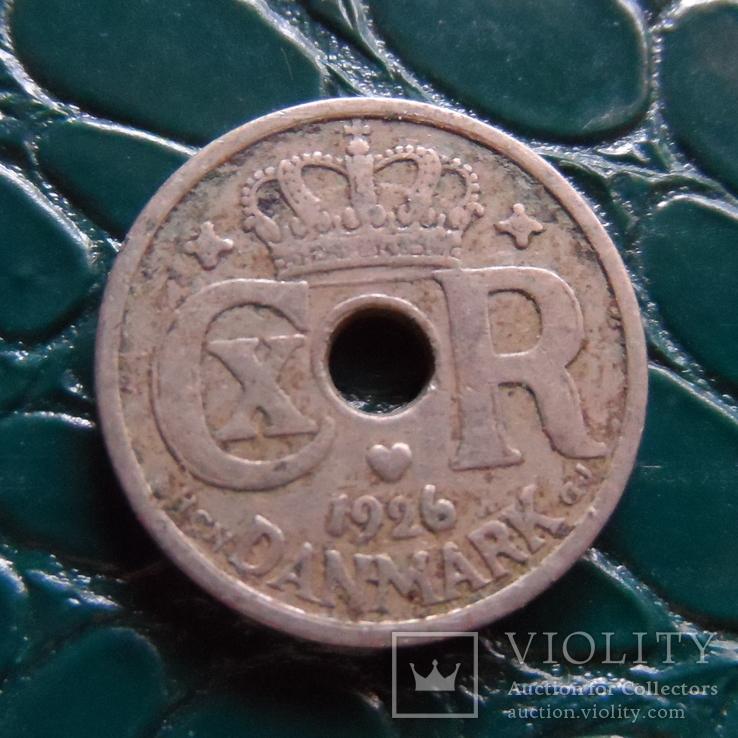 10 эре 1926   Дания    (Э.1.30)~, фото №2