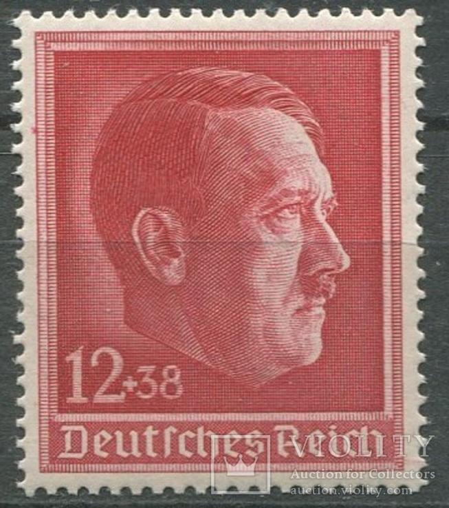 1938 Рейх 49 лет Гитлеру  полная серия MNH **