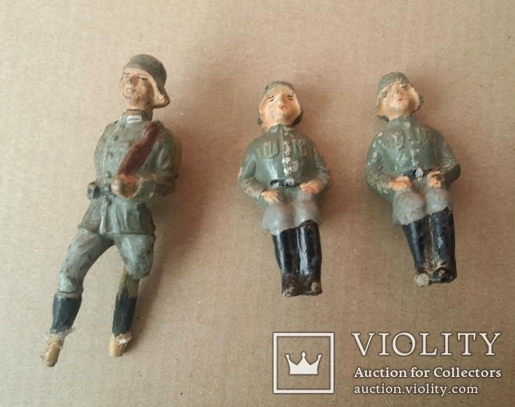 Немецкие солдаты 1920-1940х годов  Elastolin -Lineol, фото №2