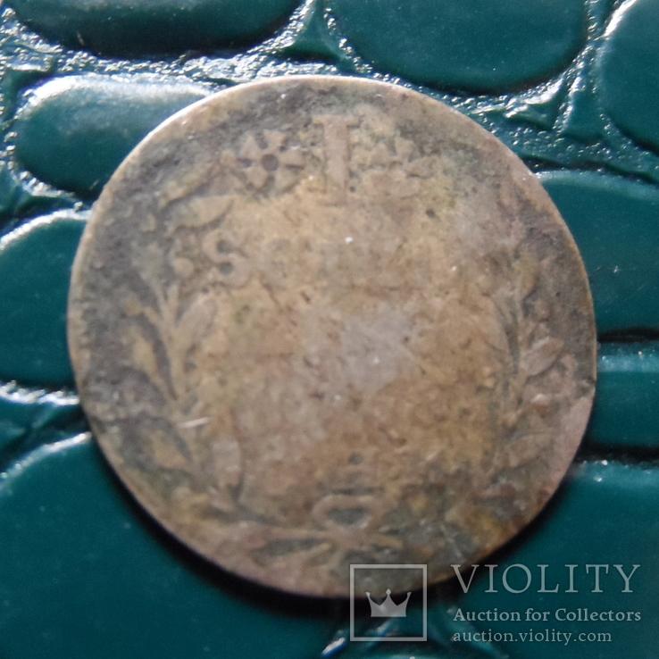 1 шиллинг 1751  Макленбург Шверинг серебро   (Э.2.17)~, фото №4