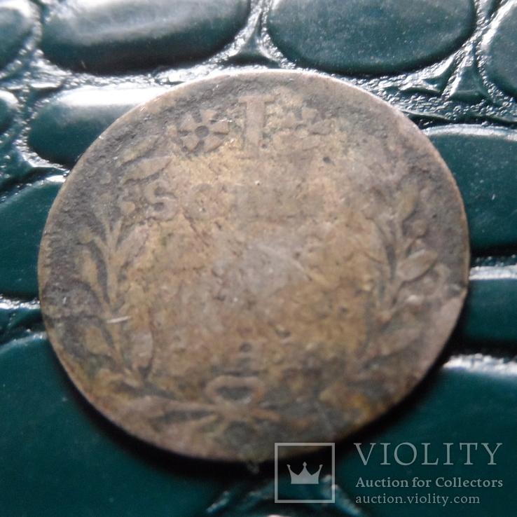 1 шиллинг 1751  Макленбург Шверинг серебро   (Э.2.17)~, фото №5