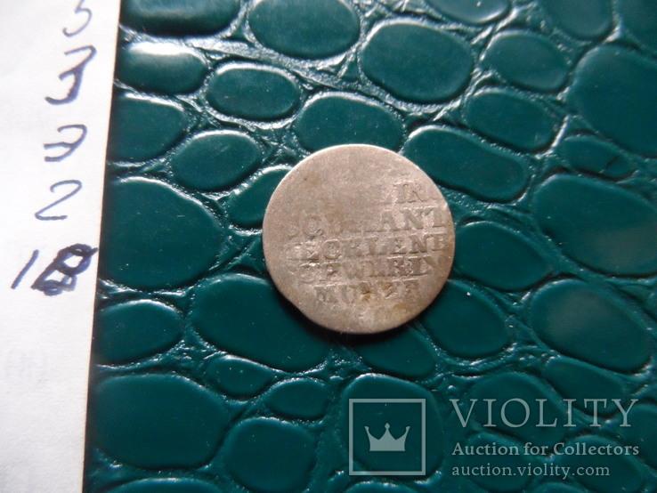 1 шиллинг 1775  Макленбург Шверинг серебро   (Э.2.18)~, фото №5