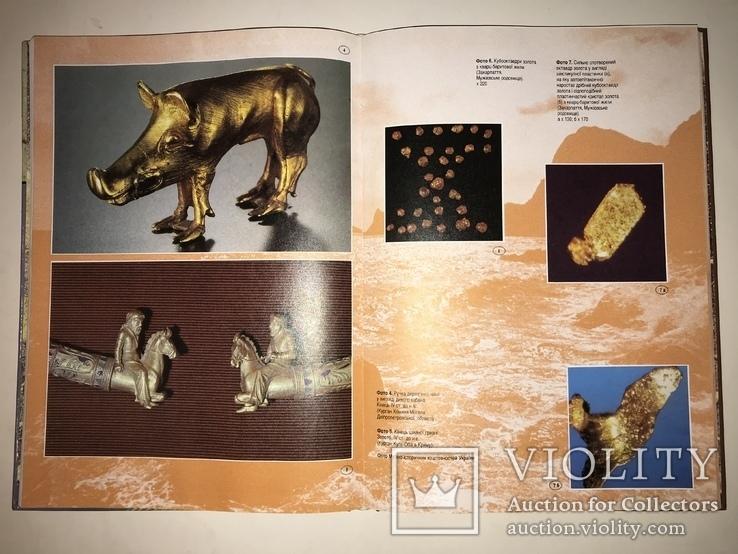 Самородное Золото Украины Красочная Книга