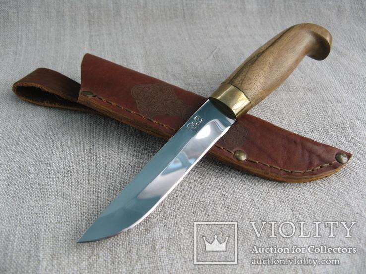 Нож авторский с клеймом мастера РоС.