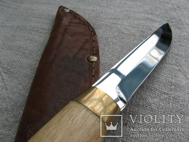 Нож авторский с клеймом мастера РоС., фото №5