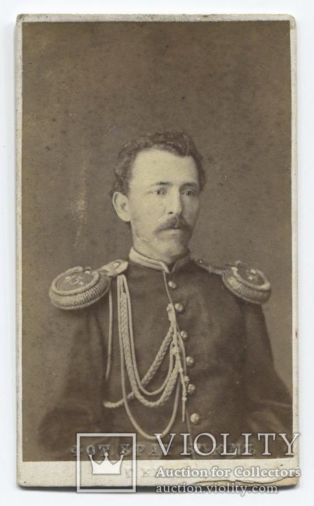 Керчь, 1874 г. Поручик 13-й пехотной дивизии, адъютант. Фот. братьев Блюм.